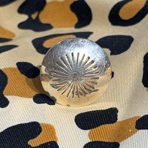 Vintage Navajo Concho Ring